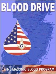 Masonic Blood Drive @ Morristown Masonic Center - Cincinnati Lodge #3